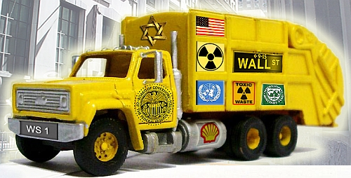 Wall Street Delivery Truck