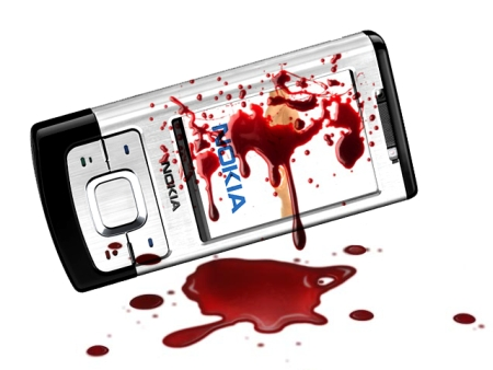 Bloody Coltan Phone