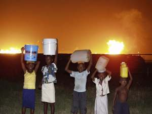 Gas flaring in Nigeria