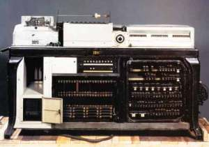 IBM Hollerith Punch-card Machine