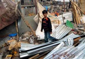 Slumpdog child star's home demolished in Mumbai